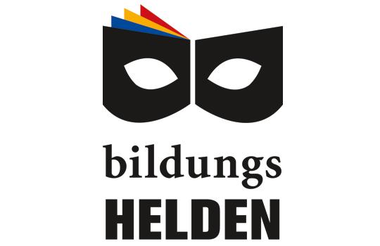 Logo für Bildungshelden