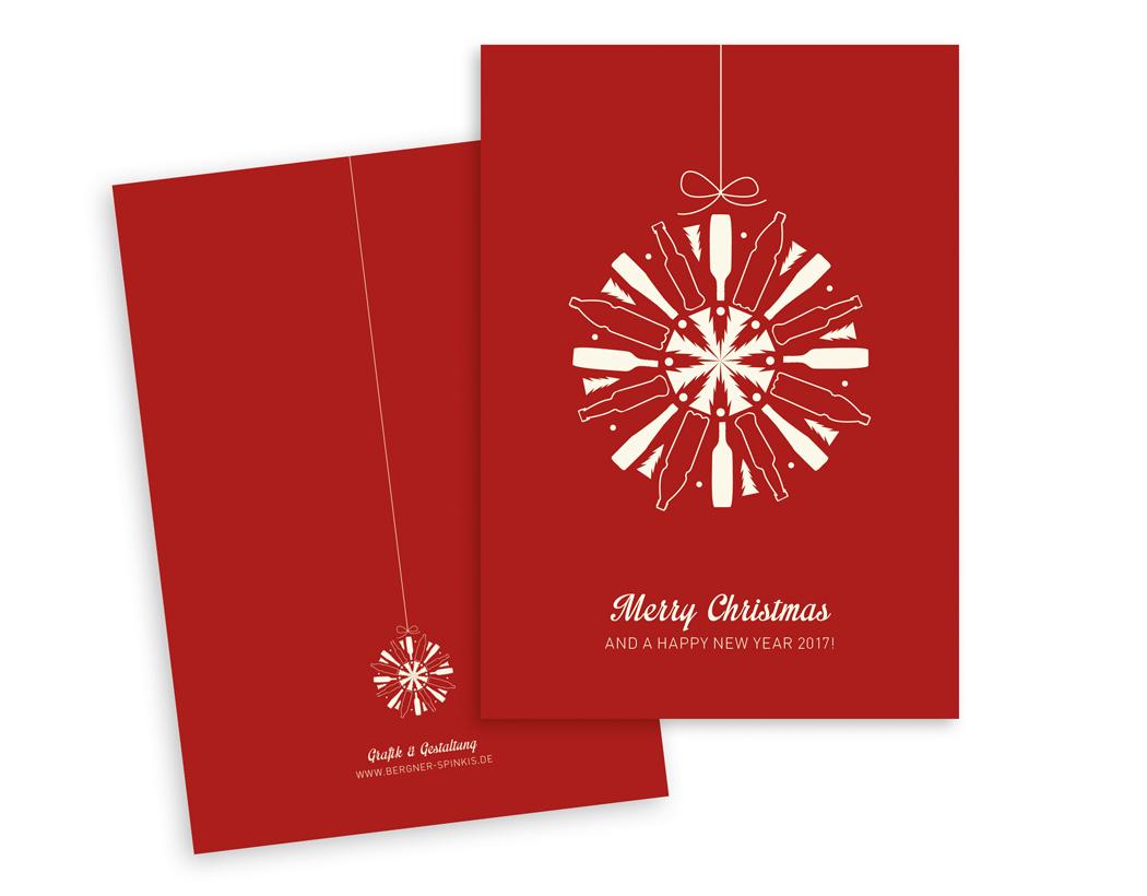 Weihnachtskarte für PET Verpackungen Deutschland GmbH